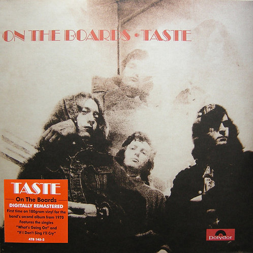 TASTE LP On The Boards (180 Gram Heavyweight Vinyl)