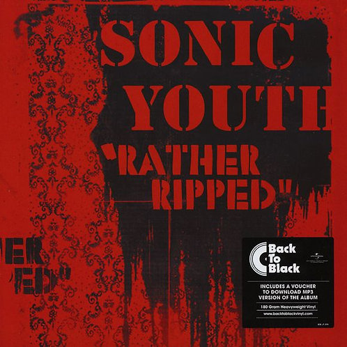SONIC YOUTH LP Rather Ripped