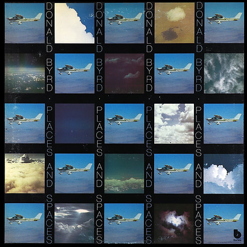 DONALD BYRD LP Places And Spaces