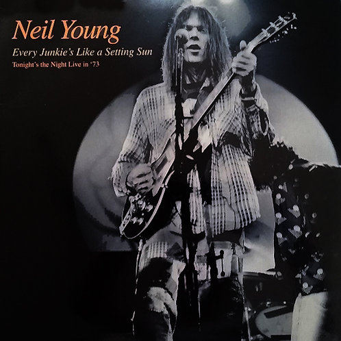 NEIL YOUNG LP Every Junkie's Like A Setting Sun