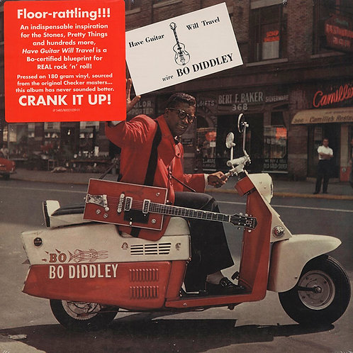 BO DIDDLEY LP Have Guitar, Will Travel (Sundazed)