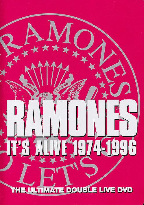 RAMONES 2xDVD It's Alive 1974-1996