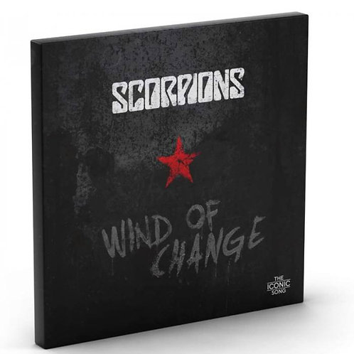 SCORPIONS BOX SET LP+CD+BOOK Wind Of Change (The Iconic Song)
