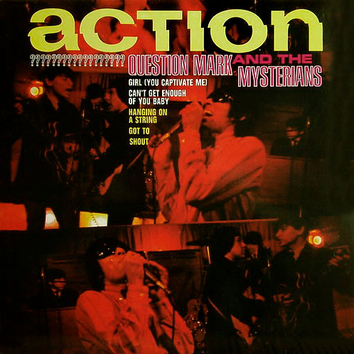 QUESTION MARK AND THE MYSTERIANS LP Action