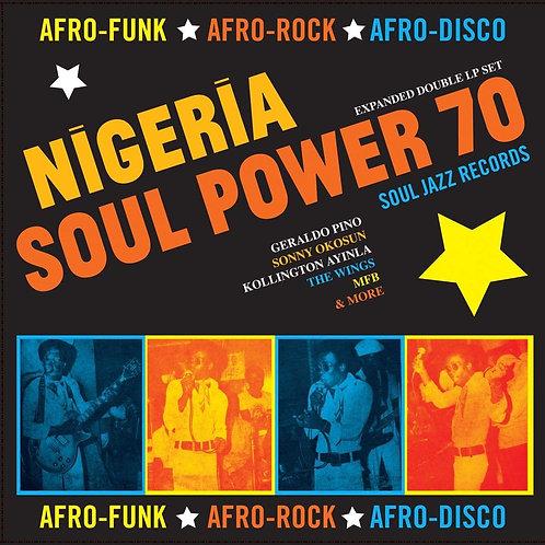 VARIOS 2xLP Nigeria Soul Power 70 (Afro-Funk ★ Afro-Rock ★ Afro-Disco)