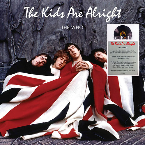 THE WHO 2xLP The Kids Are Alright (RSD Drops 2020) Red & Blue Coloured Vinyls