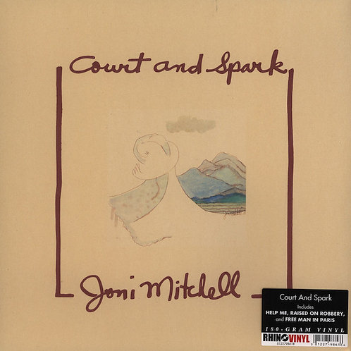 JONI MITCHELL LP Court And Spark