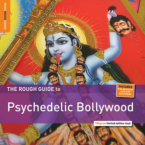 VARIOS LP Rough Guide To Psychedelic Bollywood