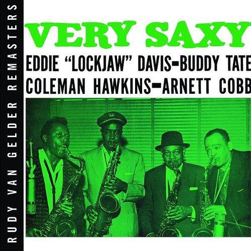 COLEMAN HAWKINS - EDDIE DAVIS - BUDDY TATE - ARNETT COBB CD Very Saxy