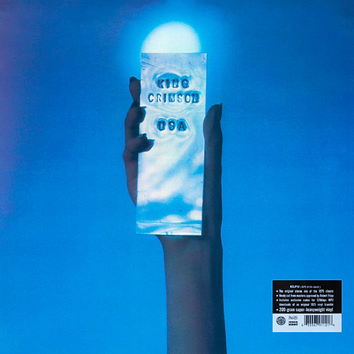 KING CRIMSON LP USA (200-Gram Super-Heavyweight Vinyl)