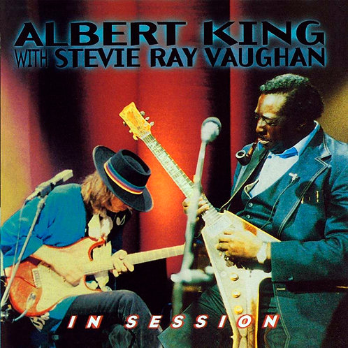 ALBERT KING & STEVIE RAY VAUGHAN CD In Session