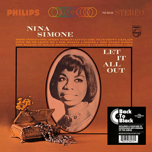 NINA SIMONE LP Let It All Out
