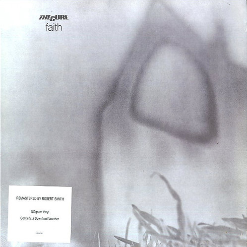 THE CURE LP Faith (Remastered by Robert Smith)
