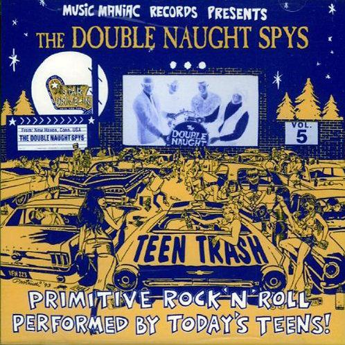DOUBLE NIGHT SPYS CD Teen Trash Volume 5 (USA)