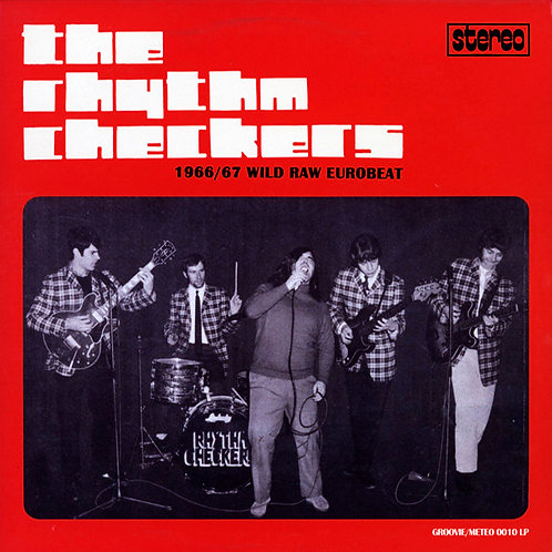 THE RHYTHM CHECKERS LP 1966 / 67 Wild Raw Eurobeat