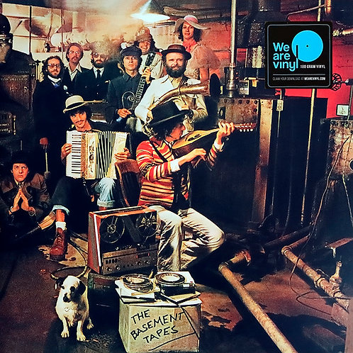 BOB DYLAN & THE BAND 2xLP The Basement Tapes