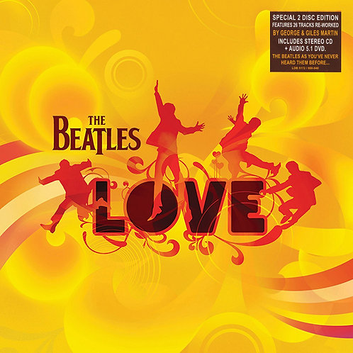 BEATLES CD+DVD Love (Deluxe Digipack Special Edition)
