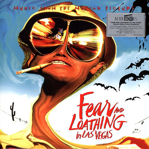 OST 2xLP Fear And Loathing In Las Vegas (Music From The Motion Picture)