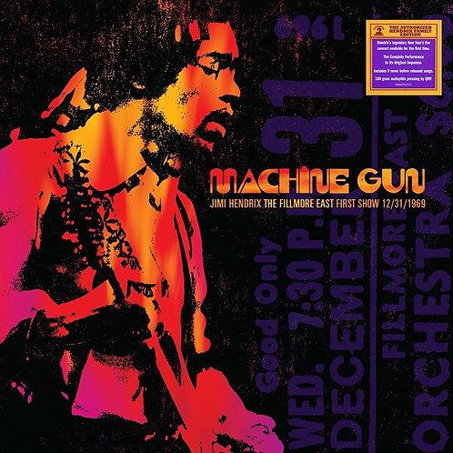JIMI HENDRIX 2xLP Machine Gun: The Fillmore East First Show 12/31/1969