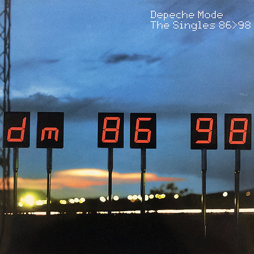 DEPECHE MODE 2XLP The Singles 86-98 (Poster Included)
