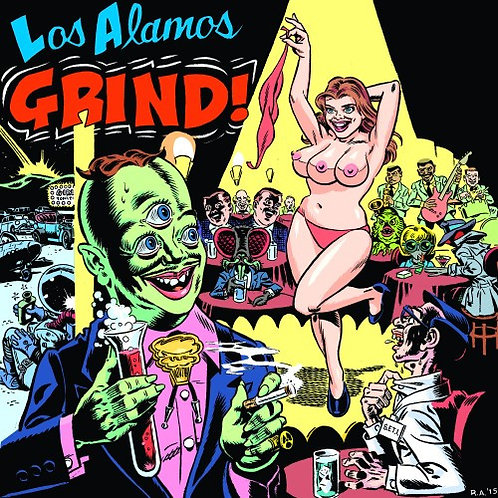 VARIOUS LP Los Alamos Grind! (RSD 2016 USA)