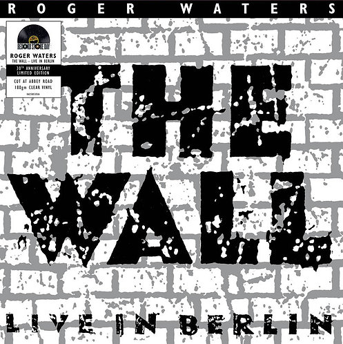 ROGER WATERS 2xLP The Wall Live In Berlin Clear Vinyls RSD Drops September 2020