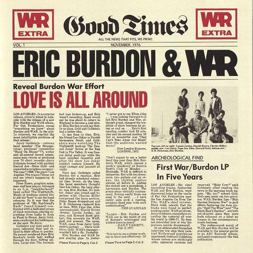 ERIC BURDON & WAR CD Love Is All Around