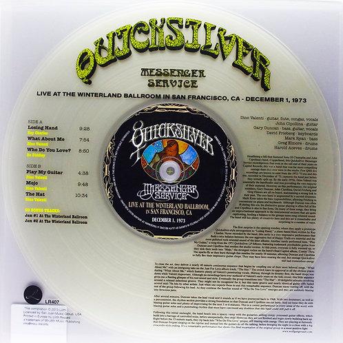 QUICKSILVER MESSENGER SERVICE LP+CD Live At Winterland Arena In San Francisco 1