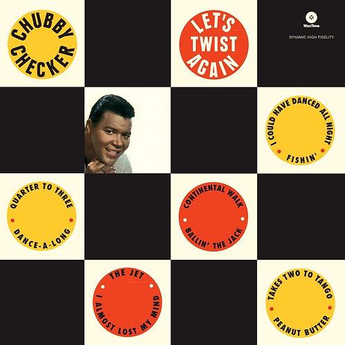 CHUBBY CHECKER LP Let's Twist Again