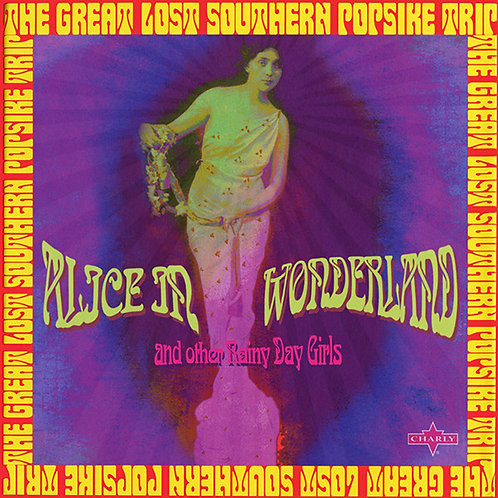 VARIOS 2xCD Alice In Wonderland: The Great Lost Southern Popsike