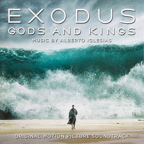 ALBERTO IGLESIAS 2xLP Exodus Gods And Kings (Coloured 180 gram audiophile vinyl)