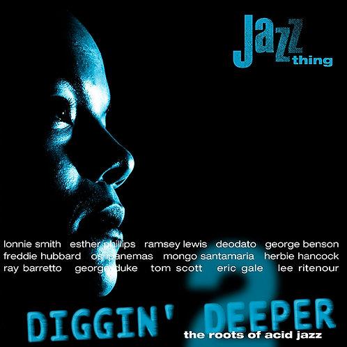 VARIOUS 2xLP Diggin' Deeper 2: The Roots Of Acid Jazz