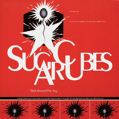 THE SUGARCUBES LP Stick Around For Joy