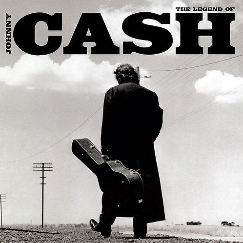 JOHNNY CASH 2xLP The Legend Of Johnny Cash
