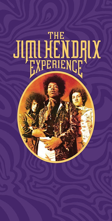 JIMI HENDRIX BOX SET 4xCD The Jimi Hendrix Experience (Big Box Set)