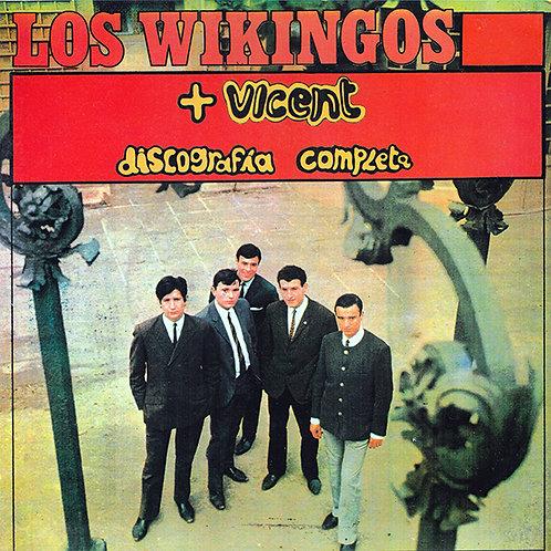 LOS WIKINGOS + VICENT LP Discografía Completa