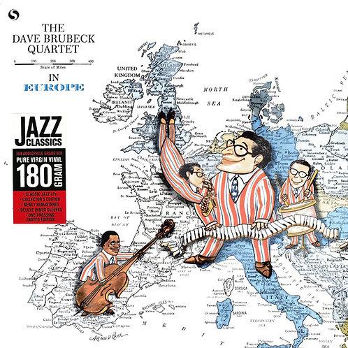 DAVE BRUBECK QUARTET LP The Dave Brubeck Quartet In Europe
