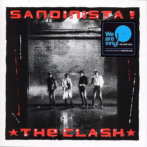 THE CLASH 3xLP Sandinista! (180 gram audiophile vinyl)
