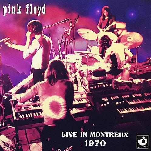 PINK FLOYD 2xLP Live In Montreux 1970 (Pink Coloured Vinyls)