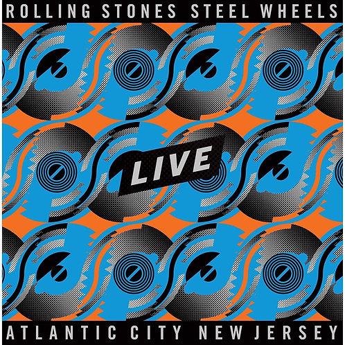 ROLLING STONES 4xLP Steel Wheels Live Atlantic City New Jersey