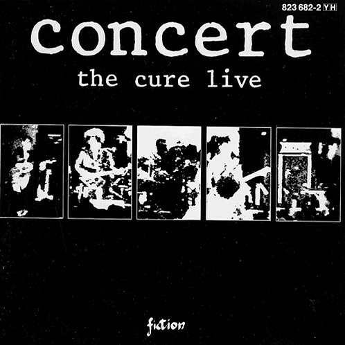 THE CURE CD Concert The Cure Live