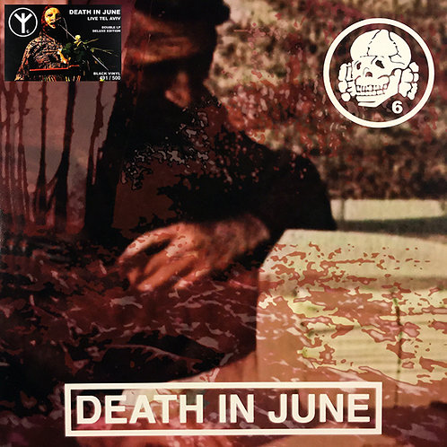 DEATH IN JUNE 2xLP Again And Again! (Numbered Limited Edition)
