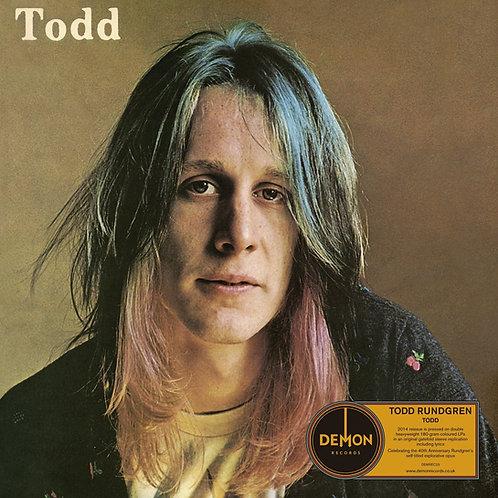 TODD RUNDGREN 2xLP Todd (Orange Coloured Vinyl)