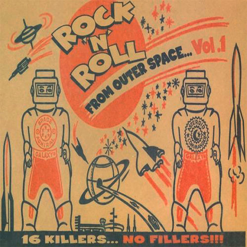 VARIOUS LP Rock 'N' Roll From Outer Space Vol. 1