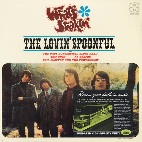 THE LOVIN' SPOONFUL & OTHERS LP What's Shakin' (Paul Butterfield, Eric Clapton)