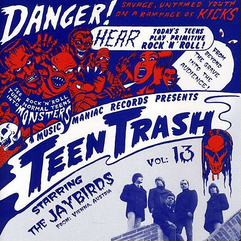 THE JAYBIRDS CD Teen Trash Volume 13 (Austria)