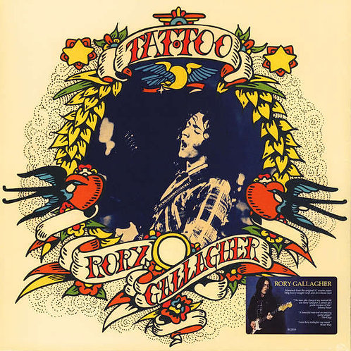 RORY GALLAGHER LP Tattoo (Remastered)