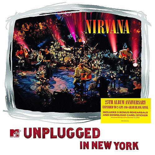 NIRVANA 2xLP MTV Unplugged in New York (25th Album Anniversary)
