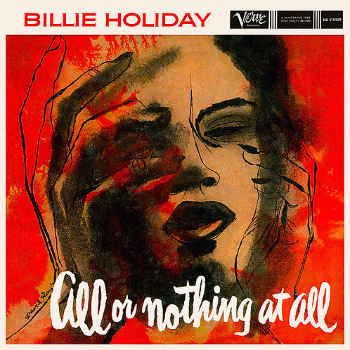 BILLIE HOLIDAY LP All Or Nothing At All