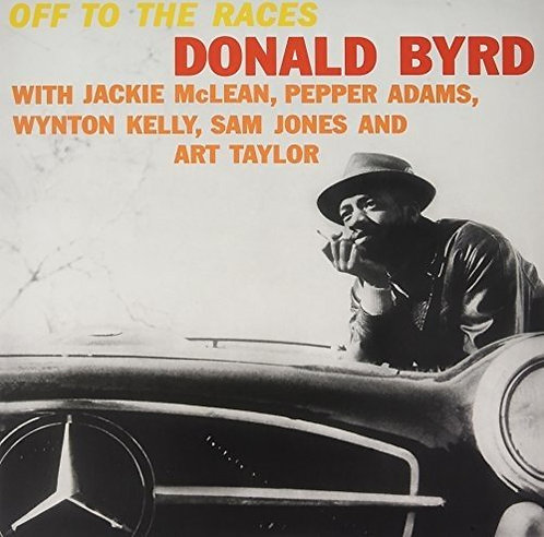 DONALD BYRD LP Off To The Races